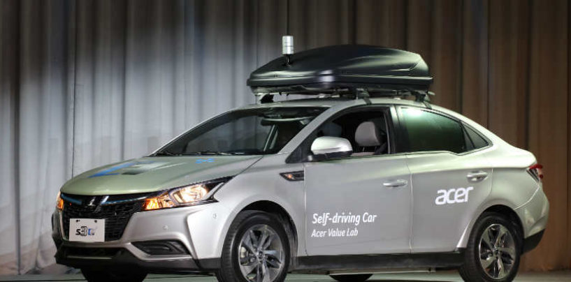 Acer Unveils Self Driving Concept Car
