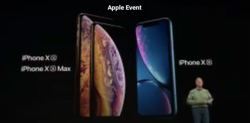 Apple Brings Stunning Three new Devices – iPhone XS, iPhone XS Max and iPhone XR