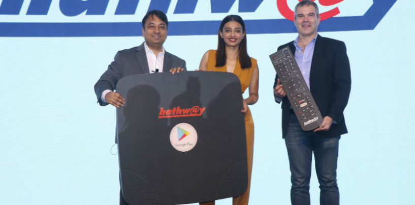 Hathway enhances the OTT TV viewing experience with Android TV