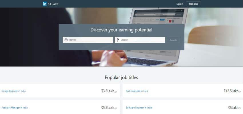 Linkedin Salary Now Available In India Ciol