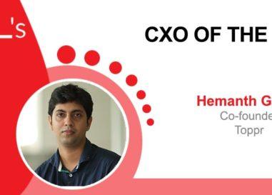 CXO of the Week: Hemanth Goteti, Co-founder, Toppr