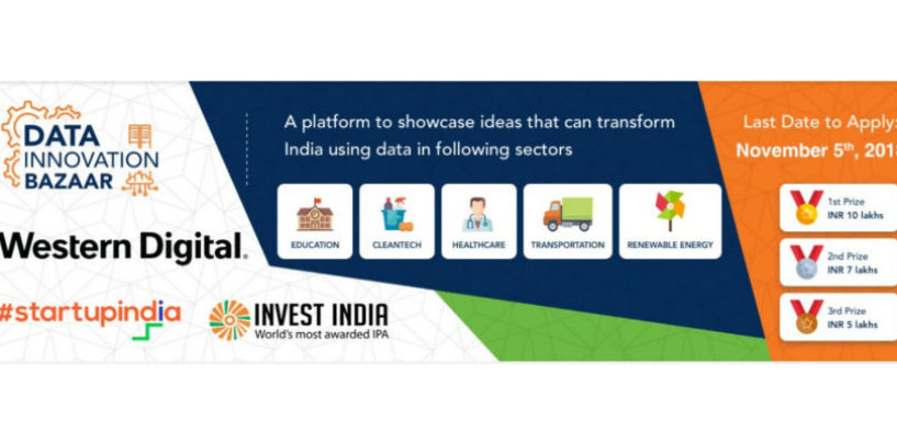 Western Digital Hosts 'Data Innovation Bazaar' in Association with 'Startup India' and 'Invest India'