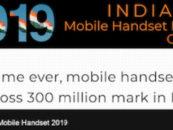 India to cross 300 million mobile handset sales milestone in 2019