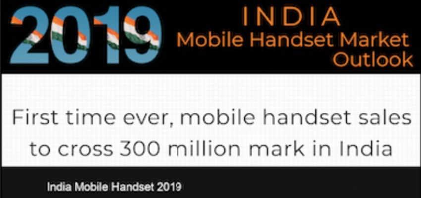 India to cross 300 million mobile handset sales milestone in