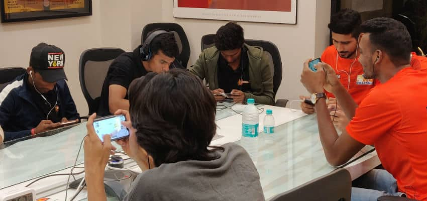 U Mumba Players Locked Horns in an Exciting game of PUBG - CIOL