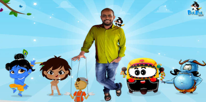 'Bulbul Apps' Early Childhood Learning App Attracts ₹3.5Cr