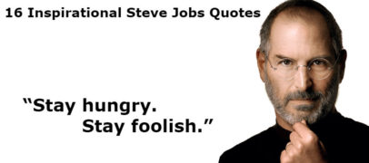 16 Inspirational Steve Jobs Quotes