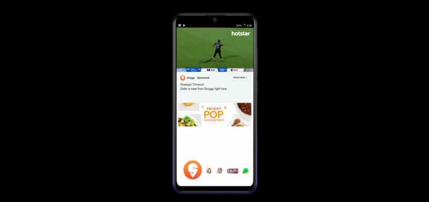 Swiggy and Hotstar Bowl Cricket Lovers Over with their Unique