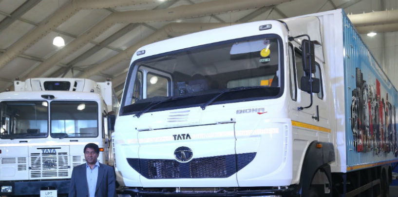 Tata Motors taps the growing e-Commerce industry with 13 customized trucking solutions in Mumbai