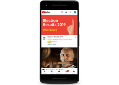 Indian Elections 2019 results: Live on Google Search, Google Assistant and YouTube