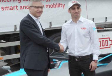 ABB showcased zero-emission electric truck in Swiss capital