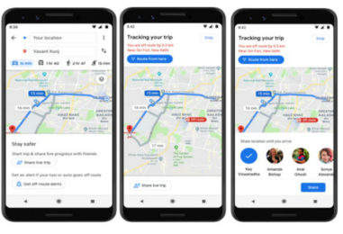 """Google Maps launches """"Stay Safer"""" feature in India"""