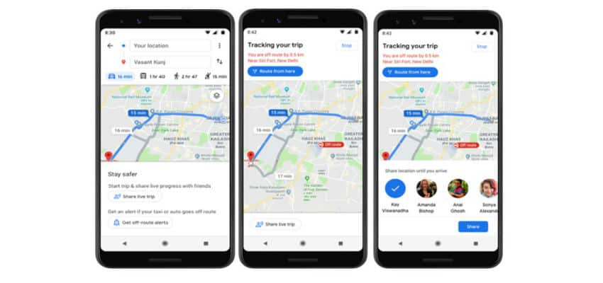 """Google Maps launches """"Stay Safer"""" feature in India - CIOL"""