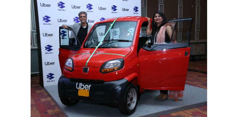 Uber announced partnership with Bajaj to launch Bajaj Qute on UberXS in Bengaluru