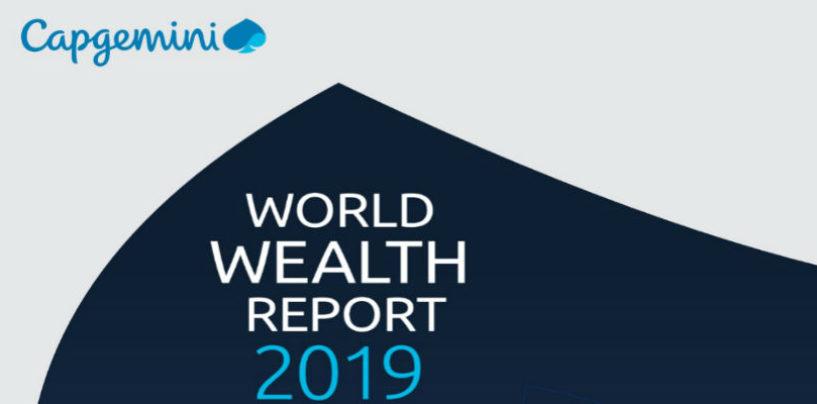 Capgemini's World Wealth Report 2019: Loss of 2 trillion USD, 3% global decrease in HNWI wealth
