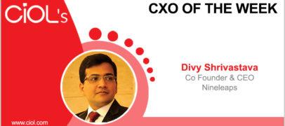 CxO of the Week: Divy Shrivastava, Co-Founder & CEO, Nineleaps