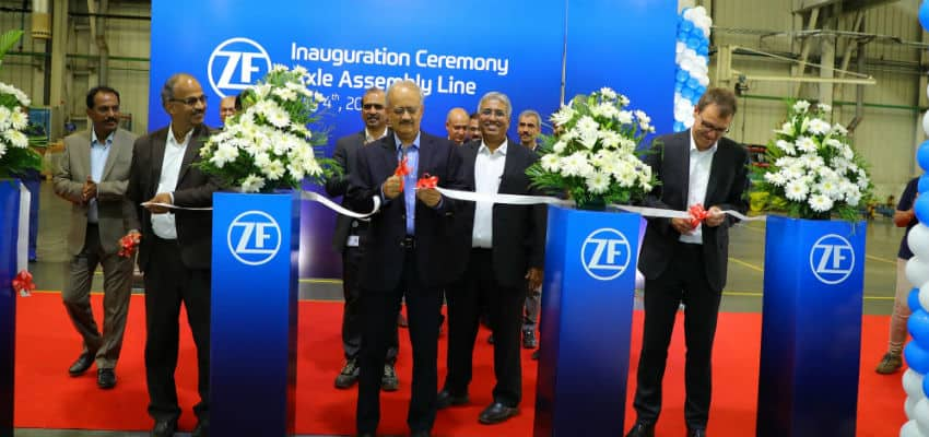 ZF Inaugurates New Off-Highway Assembly Line at its Coimbatore