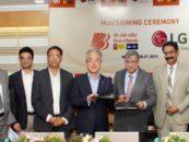 LG Electronics India signs MOU with Bank of Baroda