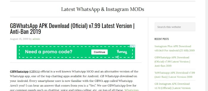 Which one is latest version – GB WhatsApp 7 99 or Beta 7 35