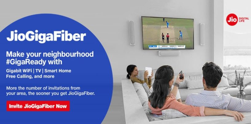 Three easy steps to apply for Reliance Jio Fiber