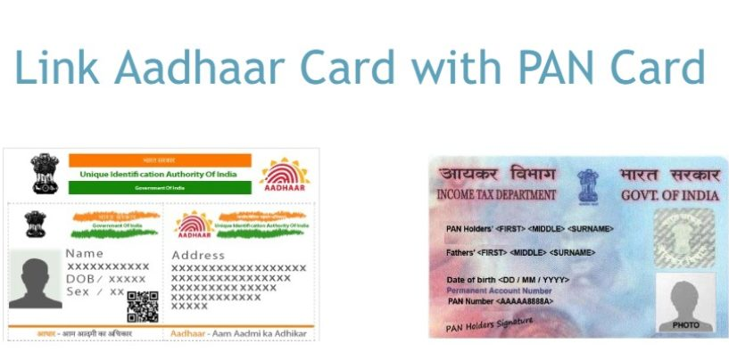 How to link Aadhaar card with PAN card – Online, SMS, Offline (Last Date 31st Dec)