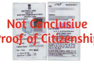 Voter ID is not Conclusive Proof of Citizenship, neither PAN and Bank Documents: Gauhati HC