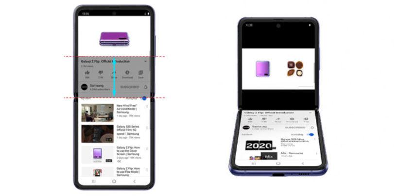 Latest: Samsung Galaxy Z flip gets a new YouTube experience