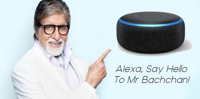 After Samuel L Jackson, Amitabh Bachchan will be the new voice of Amazon's Alexa from Bollywood
