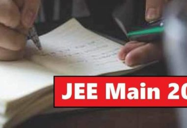 Current state of the COVID-19 pandemic may hit JEE Main 2021 April exams