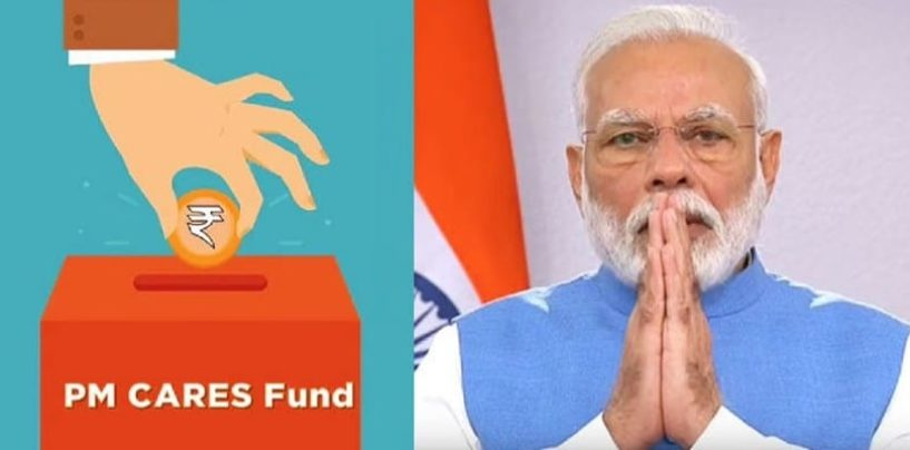 How to download receipts of donations made to PM CARES Fund to avail 80G tax deduction?